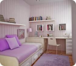 Ремонт в узкой комнате