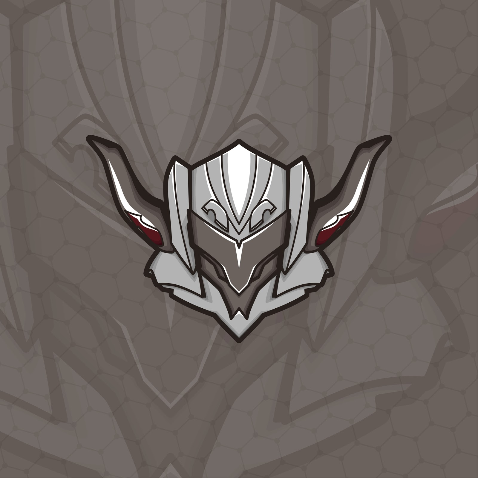 Esport Gamer Logo Saber Free Download Vector CDR, AI, EPS and PNG Formats