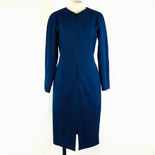 Cefinn Blue Sheath Dress