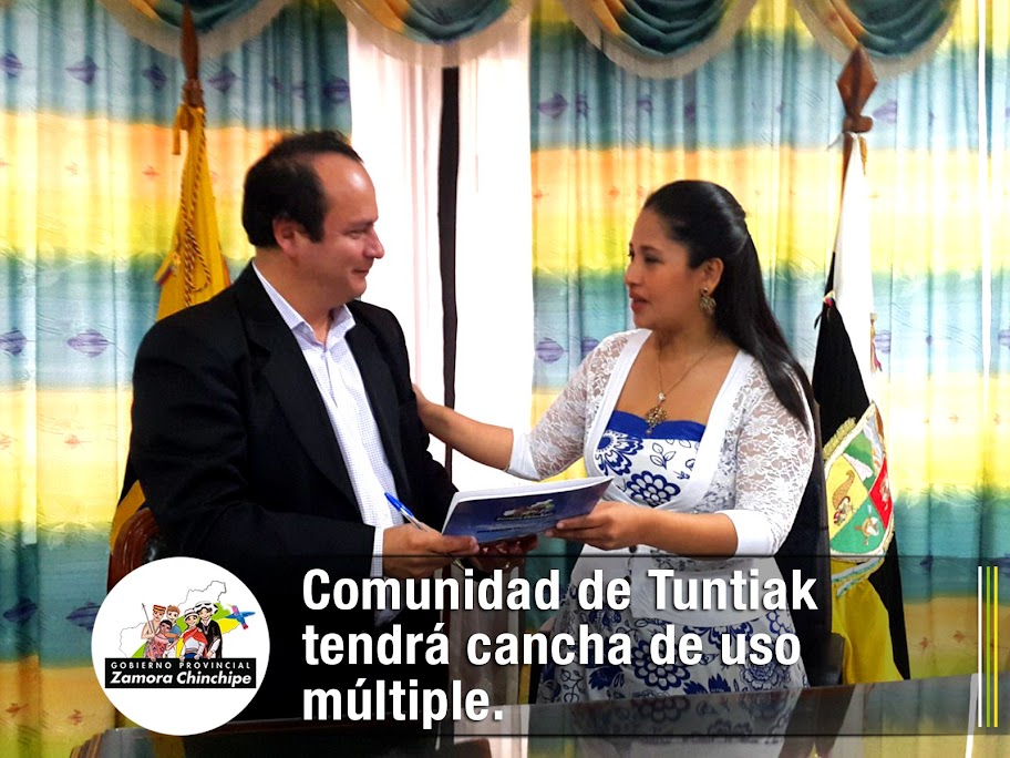 COMUNIDAD DE TUNTIAK TENDRÁ CANCHA DE USO MÚLTIPLE