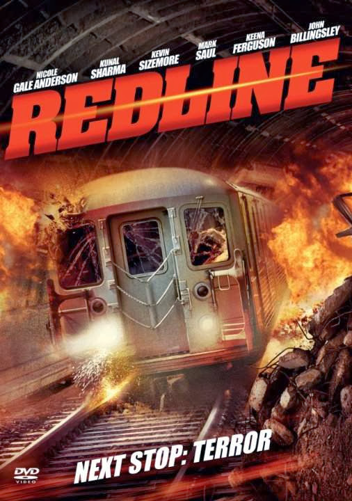 Poster Of Red Line (2013) Full Movie Hindi Dubbed Free Download Watch Online At alldownloads4u.com