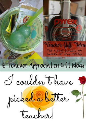 6 Teacher Appreciation Gift Ideas