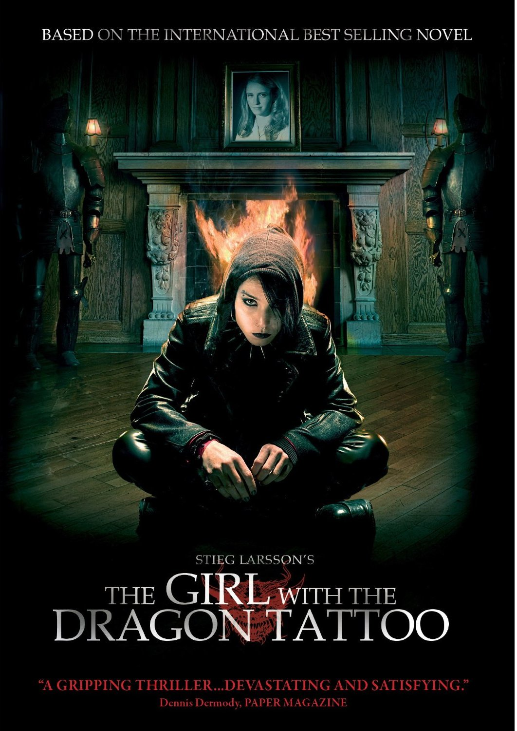 a movie analysis of the girl with the dragon tattoo The character of lisbeth salander in the dragon tattoo series means  quoting scenes like the brutal rape in the girl with the dragon tattoo  unlike movie.