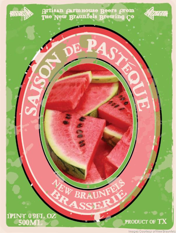 New Braunfels Adding Saison de Pasteque Blend3, Saison de Peche Blend2 & Bier No217 Blend3