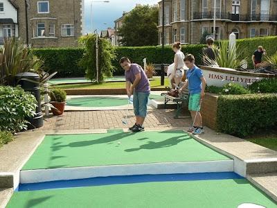 Broadstairs mini golf Kent