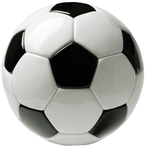 Buckminster 'Bucky' type soccer ball