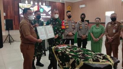 Jiwa Korsa dan Perjuangan Prajurit  di TMMD ke-111 Kodim 0212/TS