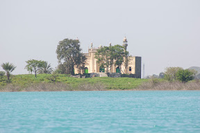View of Masjid Rajgan from boat