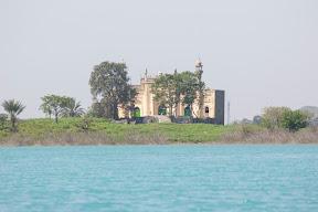 View of Masjid Rajgan from boat