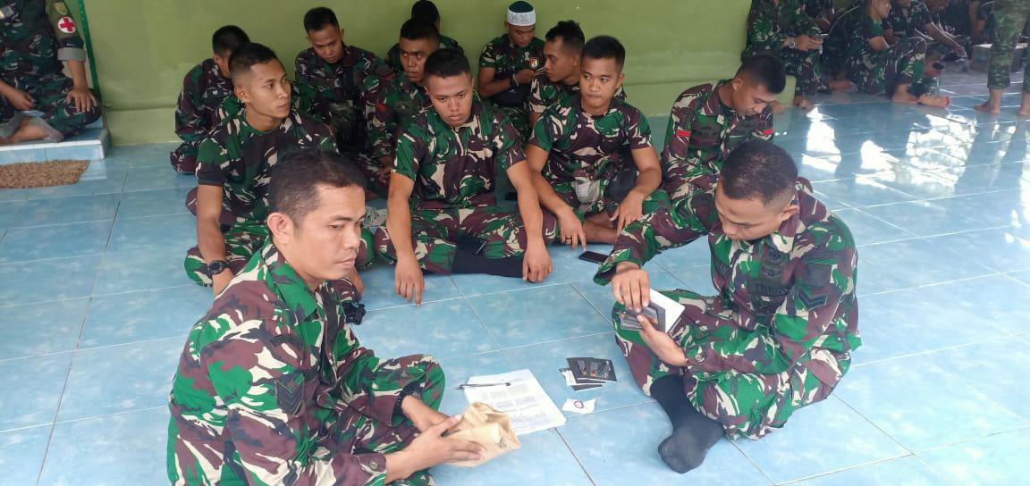 Satgas TMMD Kodim Palembang Terima Buku Rekening Bank BRI