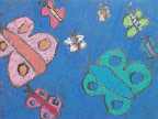 Chalk Butterflies by Alex