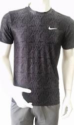 Áo thun thể thao nam Nike đen (da rắn)
