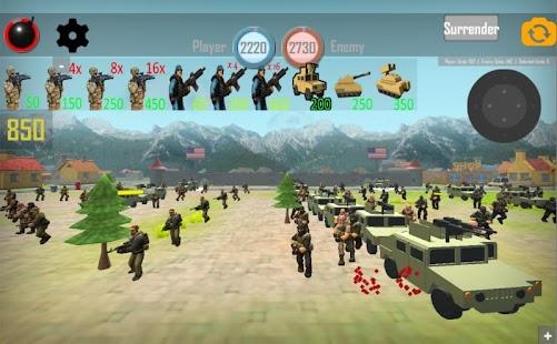WORLD WAR 3: MILITIA BATTLES RTS Strategy Game - náhled