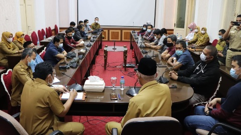 Pemprov Sumbar Butuh Wartawan dan Media Membantu Dorong Majukan Pembangunan Daerah