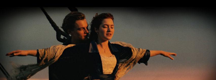 Titanic in 3d facebook cover