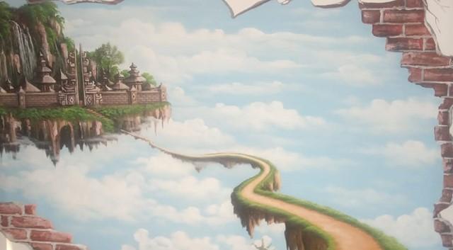 Jasa Pembuatan Lukisan Mural 3d Terkeren