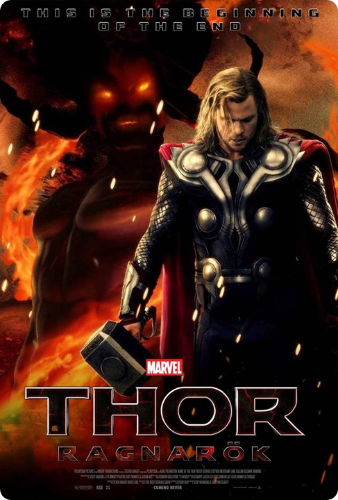 Thor Ragnarok initial release on Oct 25th