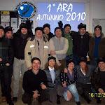 1°ARA autunno 2010
