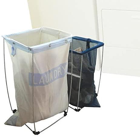 Laundry bag holders