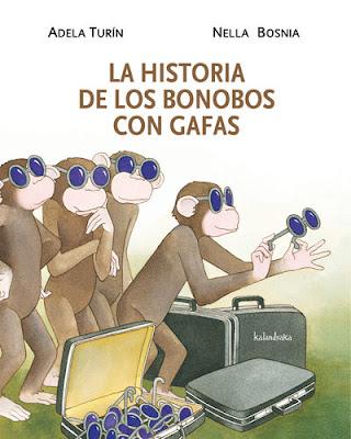 La historia de los bonobos con gafas, colección A favor de las niñas