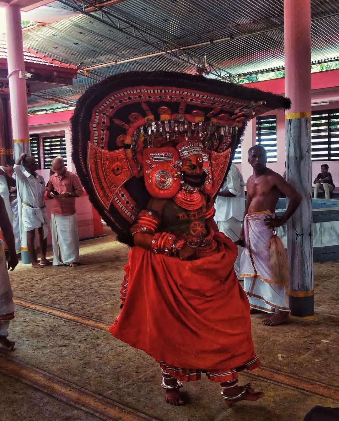 Shree Vettakorumakan Theyyam