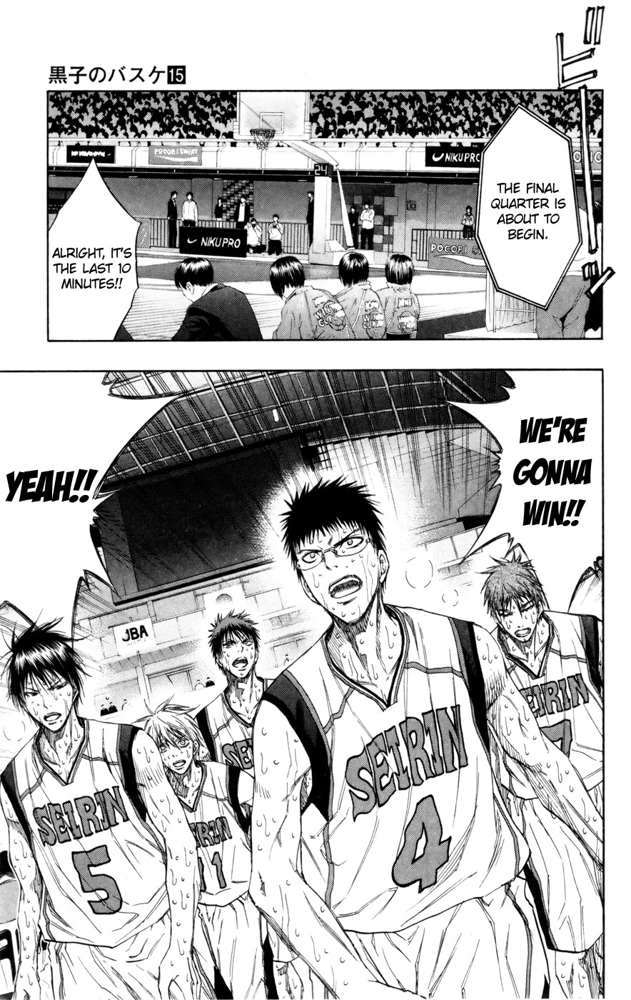 Kuroko no Basket Manga Chapter 130 - Image 10