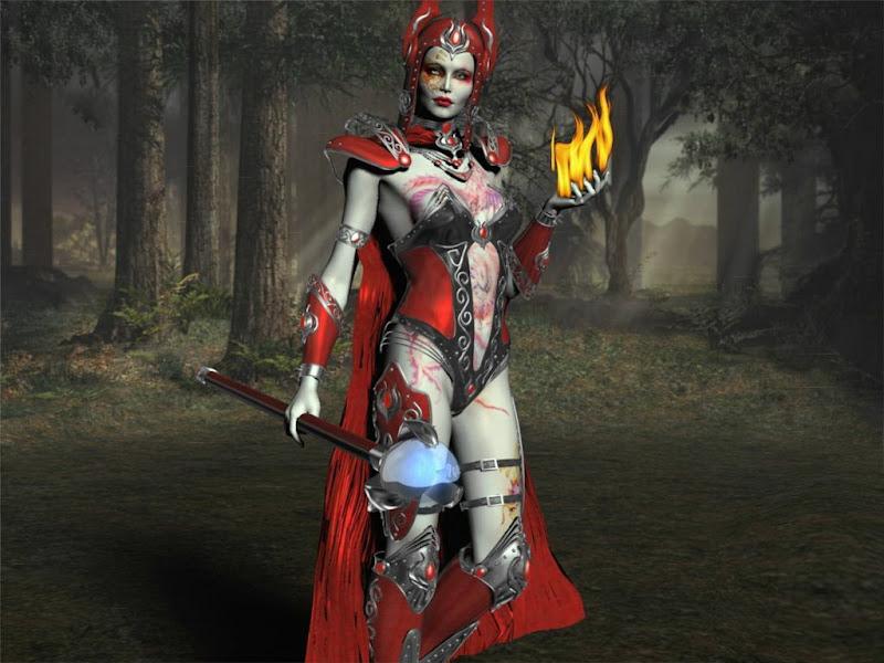 Satanic Fairy, Satanic Beauties