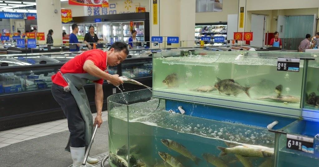 More Watery Walmart Scenes in China - Isidor's Fugue
