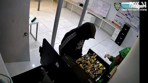 Four Robbers break into car dealer, attack security guard
