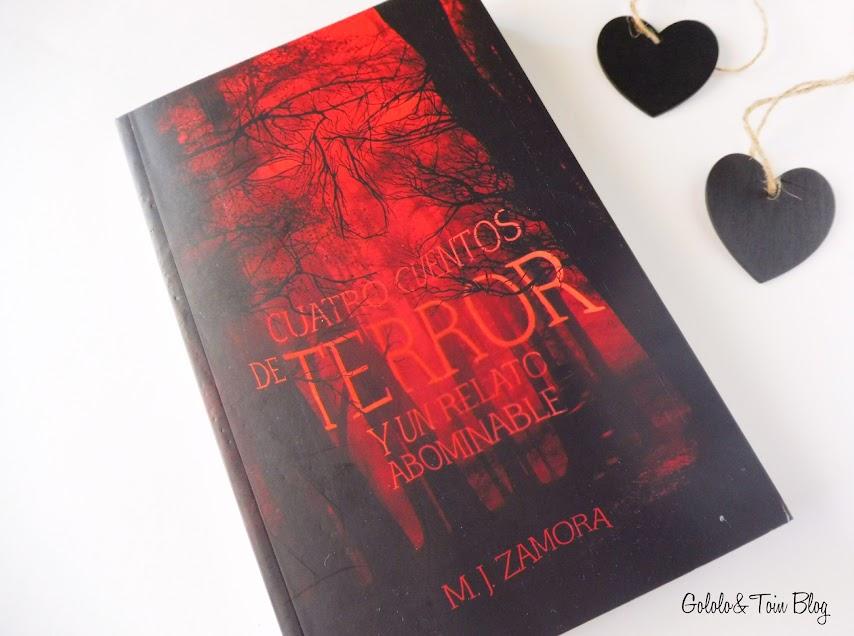 Cuatro Cuentos de terror y un relato abominable editorial SM libros juveniles terror