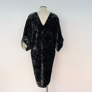 Armani Collezioni Velvet Dress