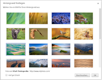 Google Chrome OS Wallpapers