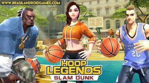 Hoop Legends: Slam Dunk Imagem do Jogo