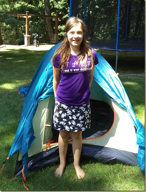 7-20 Kyla gets ready for sleep away camp 3