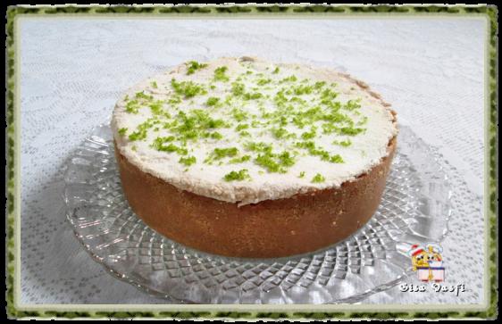 Torta de limão aerada 1