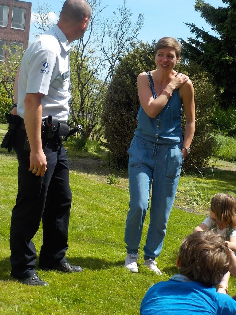 De Knetters op bezoek bij de politie - DSCN0313.JPG