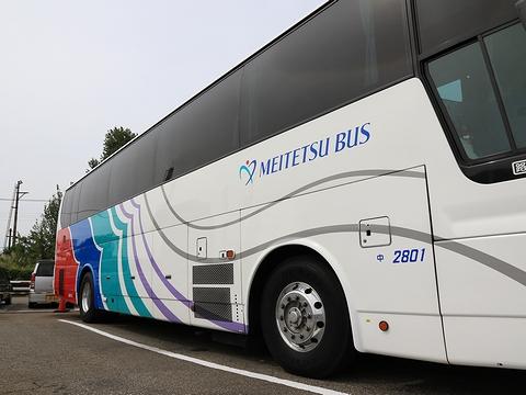 名鉄バス「名古屋~新潟線」 2801 側面