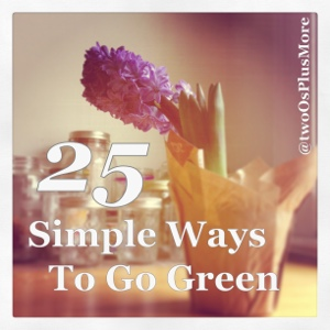 six simple ways to go green essay Here are some easy green living tips that will help save resources, and might  6  be thrifty college towns are great places to find used furniture at the local.