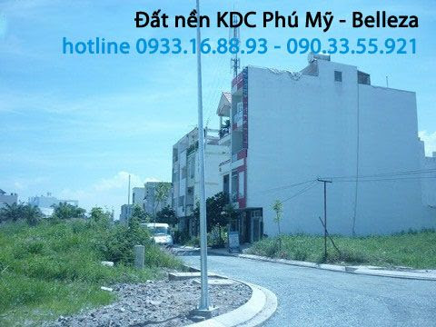 Bán đất nền Belleza Quận 7   KDC Phú Mỹ Công ích Quận 4