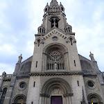 Église Notre-Dame-de-la-Croix de Ménilmontant : façade ouest