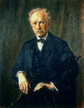Bildnis Richard Strauss - M. Liebermann