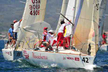 J24 sailing regatta copa mexico