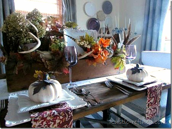 Fall Toolbox Tablescape