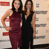 OIC - ENTSIMAGES.COM - Elva Trill and Minnie Phipps attends Britain's premier horror and fantasy film festival. Cherry Tree opens this year's festival while Tales of Halloween closes it at the View West End in London on the 27th August 2015. Photo Mobis Photos/OIC 0203 174 1069