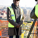 OIC - ENTSIMAGES.COM - Paterson Joseph - LAMDA Graduate at the  VIP 'topping out' of the new LAMDA building in London 20th January 2015 Photo Mobis Photos/OIC 0203 174 1069