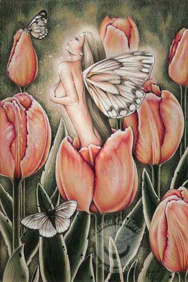 Fairy Into The Flower, Fairies Girls