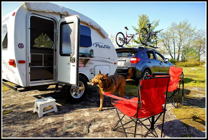 Towing Camper Trailers