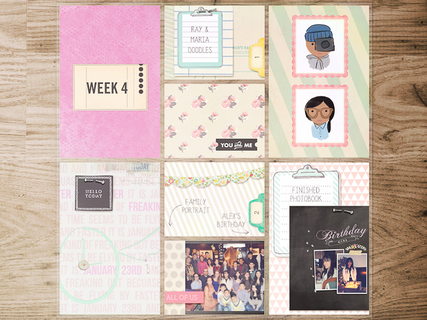 Project Life // Week 4 // left side