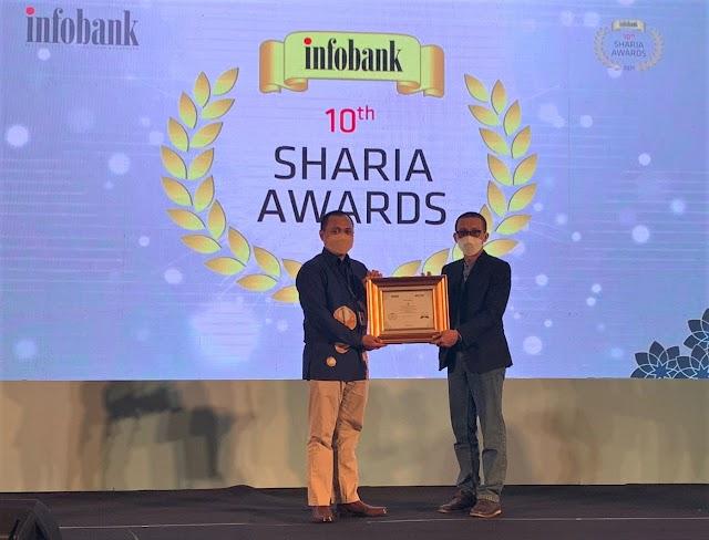UUS Bank Kalsel Raih Infobank Sharia Award 2021