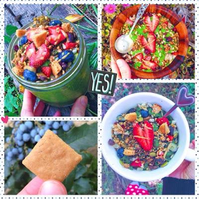 casey the college celiac, gluten free vegan smoothie bowl